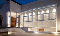 parede de vidro