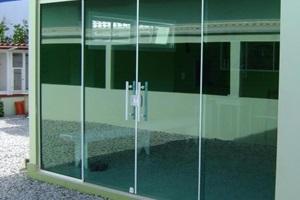 porta de vidro preço sp