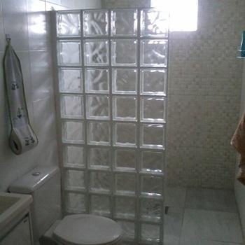 bloco de vidro