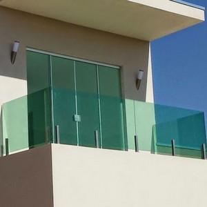 Janela de vidro verde preço